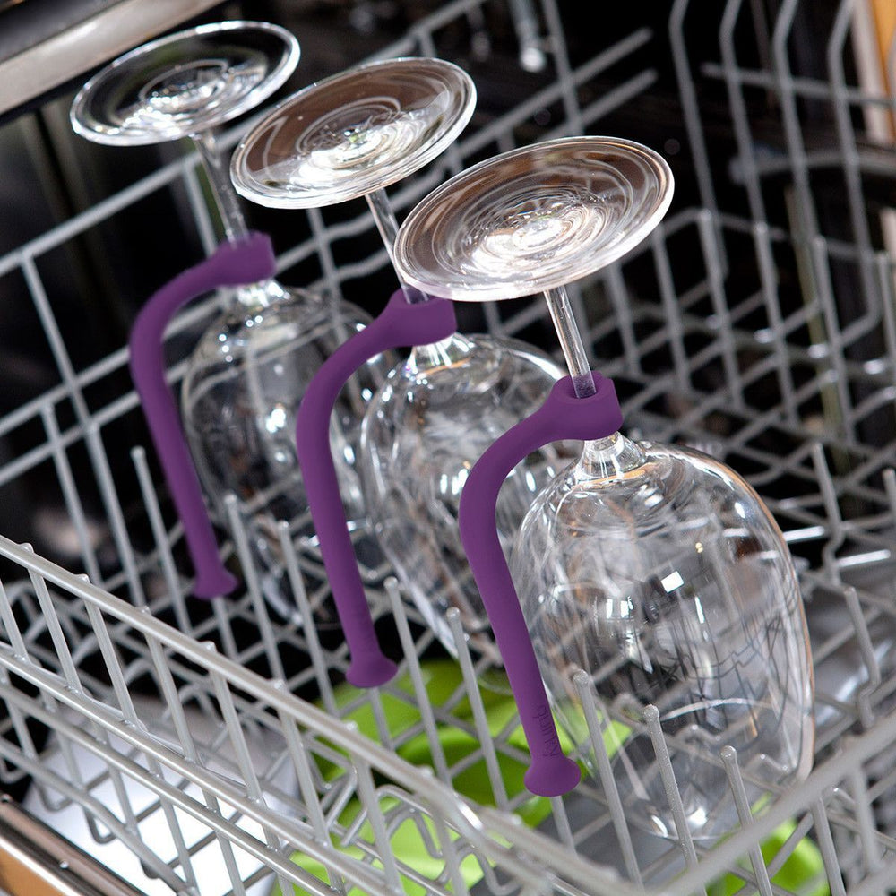 Inspire Uplift Silicone Wine Glass Holder for Dishwasher