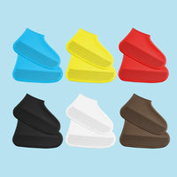Inspire Uplift Silicovers Non-Slip Shoe Covers White / S Silicovers Non-Slip Shoe Covers