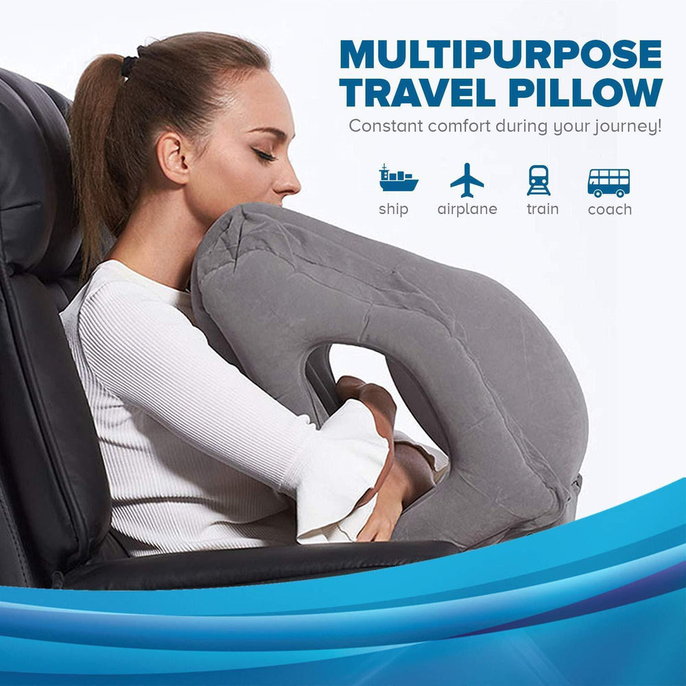 Inspire Uplift Sleepy Cloud Travel Pillow Sleepy Cloud Travel Pillow