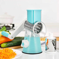 Inspire Uplift Spiralizer Pro 3-Blade Vegetable Slicer Blue Spiralizer Pro 3-Blade Vegetable Slicer