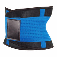 Inspire Uplift Stretch & Adjust Waist Trainer Blue / M Stretch & Adjust Waist Belt