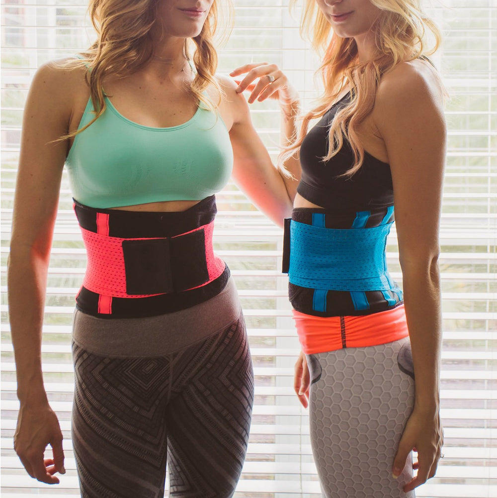 Inspire Uplift Stretch & Adjust Waist Trainer Blue / S Stretch & Adjust Waist Belt