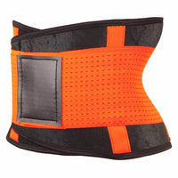 Inspire Uplift Stretch & Adjust Waist Trainer Orange / S Stretch & Adjust Waist Belt