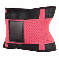 Inspire Uplift Stretch & Adjust Waist Trainer Pink / S Stretch & Adjust Waist Belt