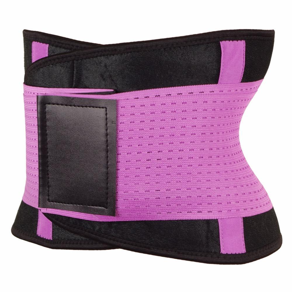 Inspire Uplift Stretch & Adjust Waist Trainer Purple / S Stretch & Adjust Waist Belt