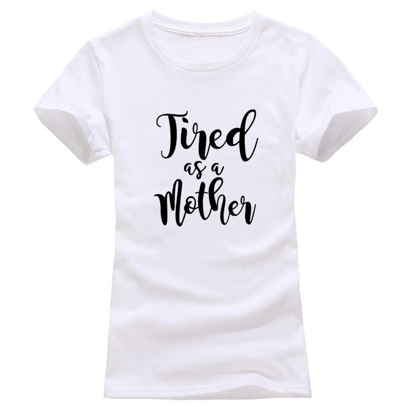 Inspire Uplift T-shirt White / S Tired as a mother T-shirt