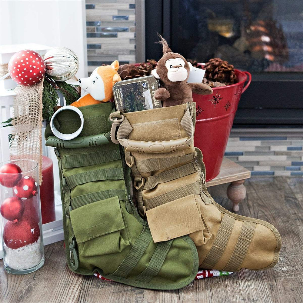 Inspire Uplift Tactical Christmas Stocking Green Tactical Christmas Stocking