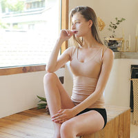 Inspire Uplift Tank Top Shaper with Removable Pads Nude / S Tank Top Shaper with Removable Pads