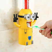 Inspire Uplift Toothpaste Dispenser Minion Yellow Little Banana Dispenser Toothpaste