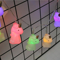 Inspire Uplift Unicorn String Lights Rainbow Unicorn String Lights