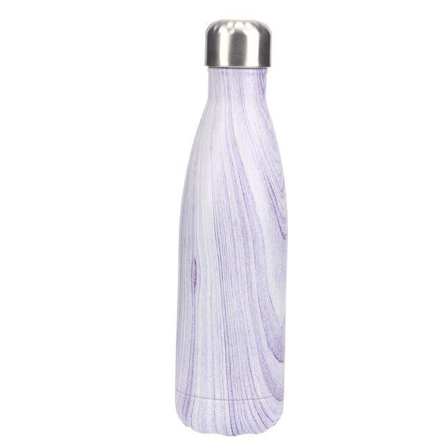 Inspire Uplift Water Bottle Purple Spiral Nordic Water Bottle
