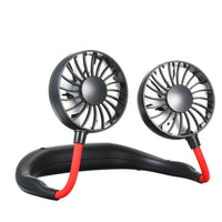 Inspire Uplift Wearable Cooler Fan Black Wearable Cooler Fan