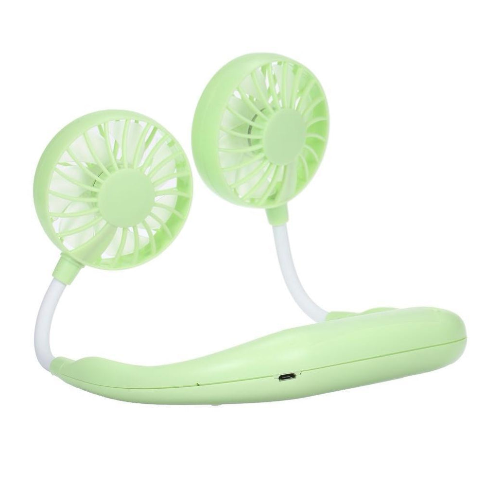 Inspire Uplift Wearable Cooler Fan Green Wearable Cooler Fan