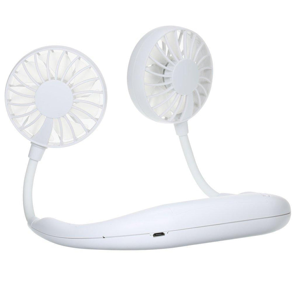 Inspire Uplift Wearable Cooler Fan White Wearable Cooler Fan