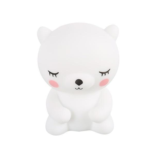 Inspire Uplift White Teddy Night Light