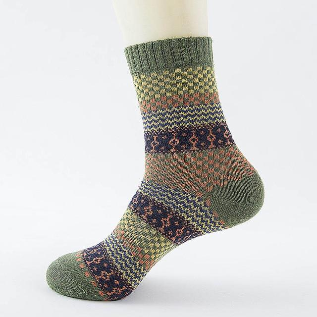 Inspire Uplift Wool Nordic Socks Pattern 10 Wool Nordic Socks