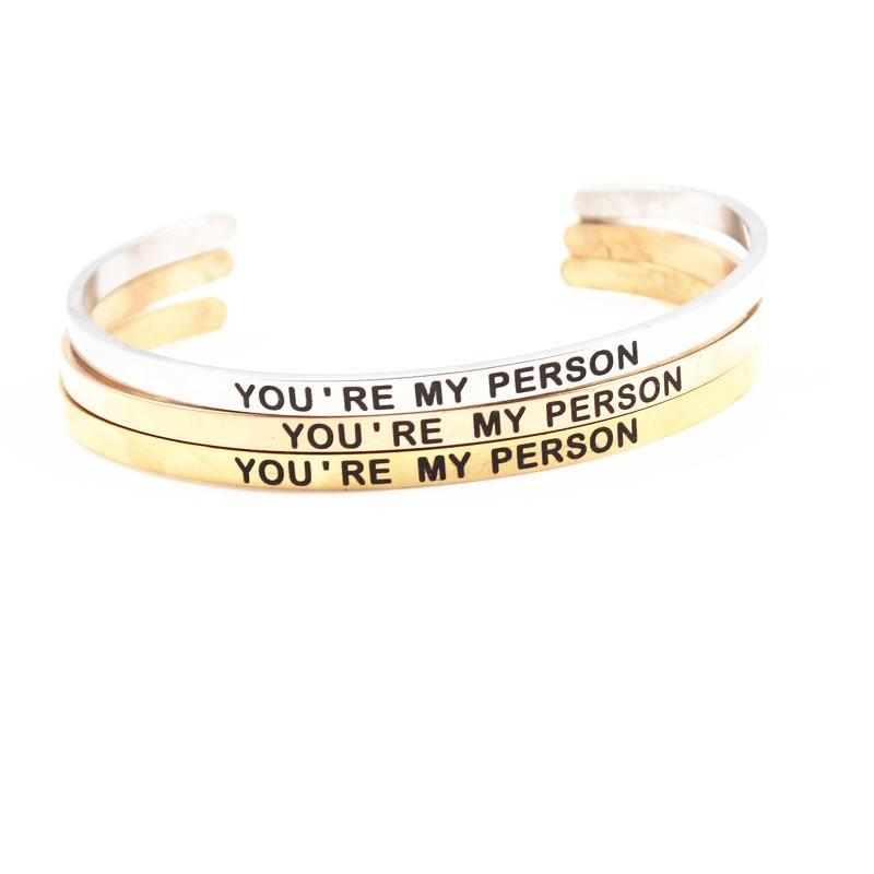 Inspire Uplift You're My Person Bracelet You're My Person Bracelet