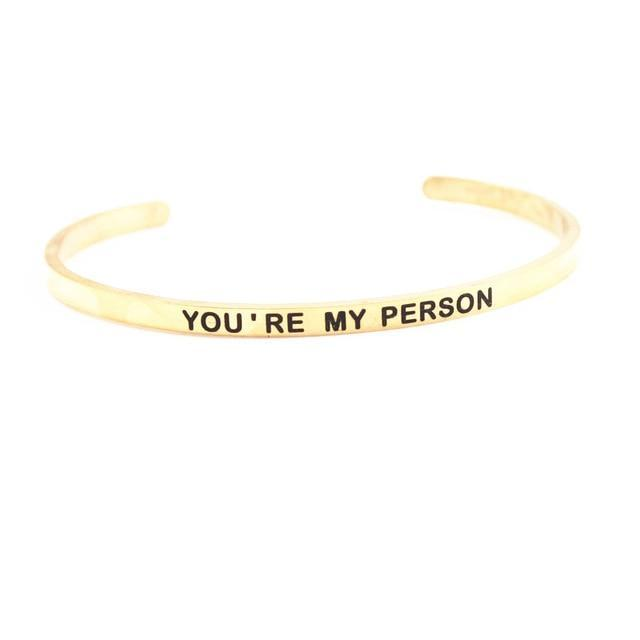 Inspire Uplift ZZ - 05 You're My Person Bracelet