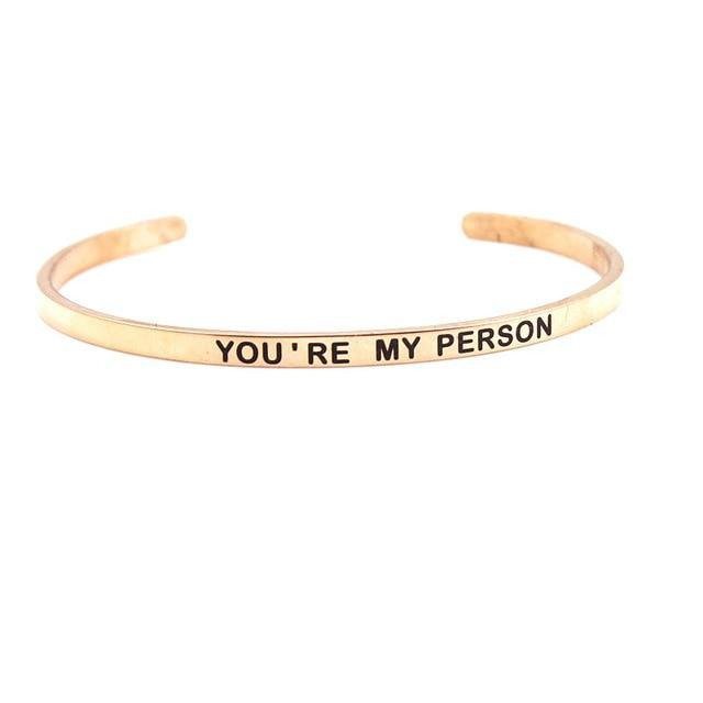 Inspire Uplift ZZ - 06 You're My Person Bracelet