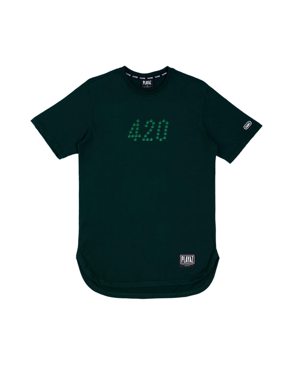 024 Mantul Oval Tee Green
