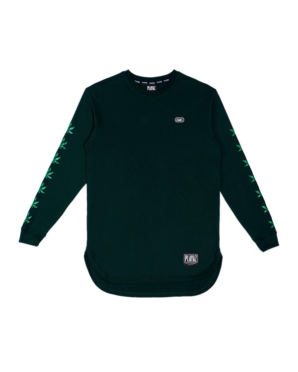 Mantul Long Sleeve Green - playaz.my