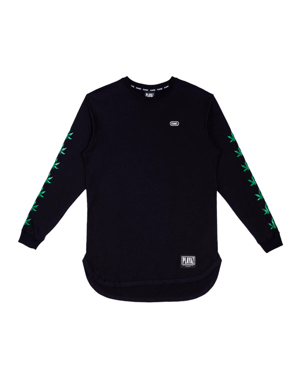 Mantul Long Sleeve Black - playaz.my