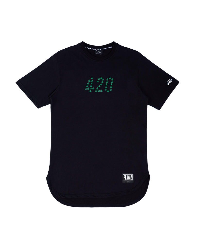 024 Mantul Oval Tee Black - playaz.my