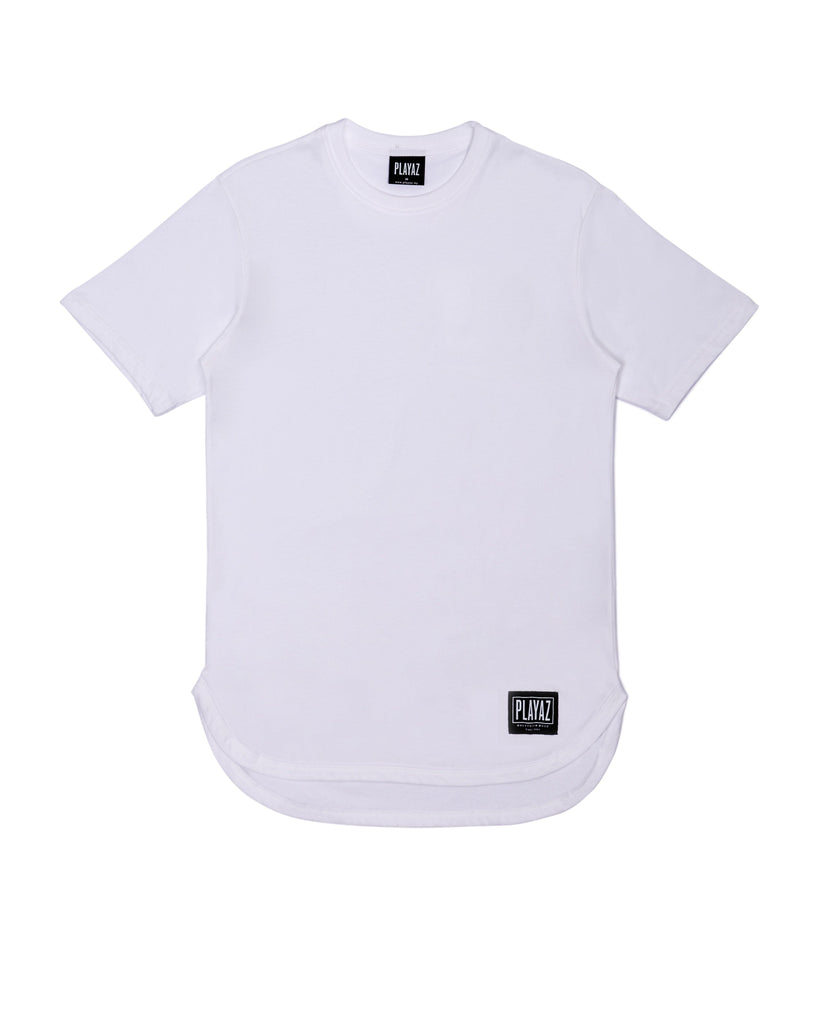 PLAIN OVAL TEE - playaz.my