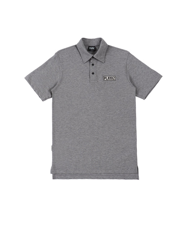 Patch Polo Grey