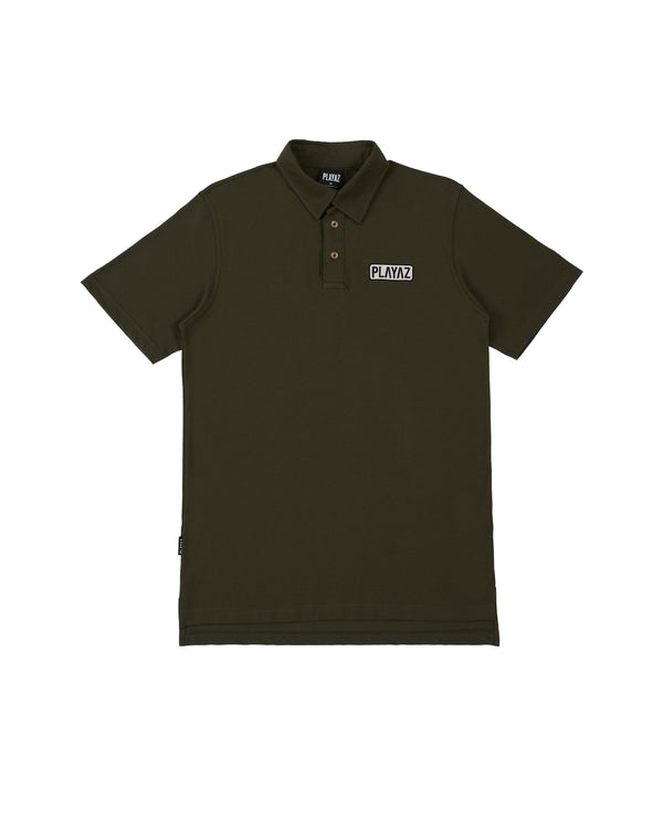 Patch Polo Olive