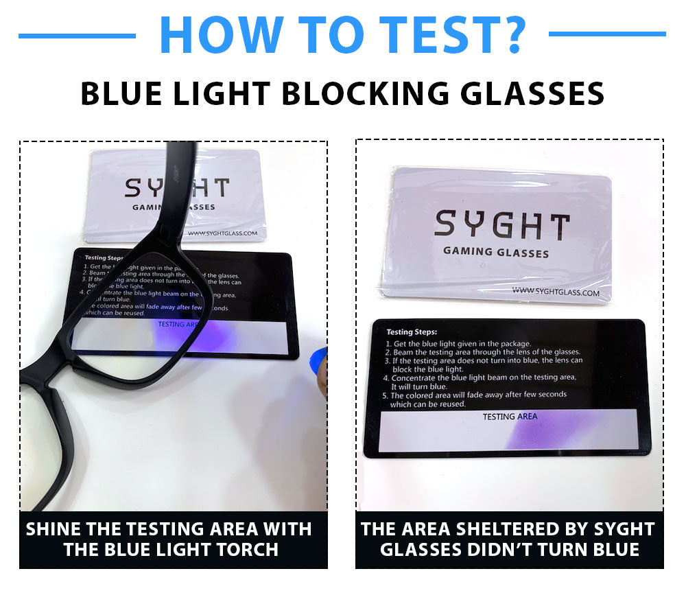 How To Test Blue Light Blocking Glasses