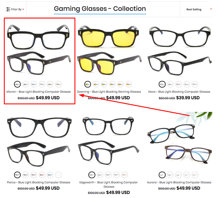 Syght gaming glasses