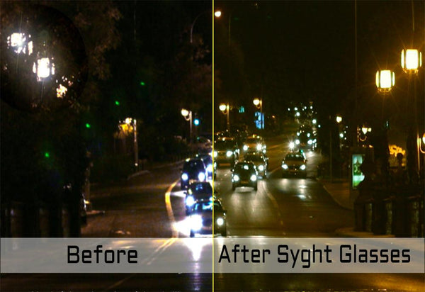 6451496892 Night vision lens reduce night driving glare and eye strain