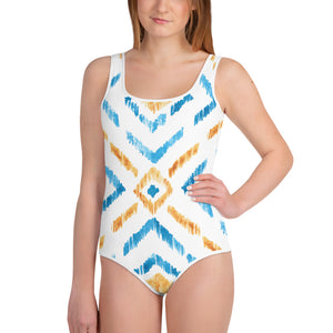 Glamoright All-Over Print Youth Swimsuit