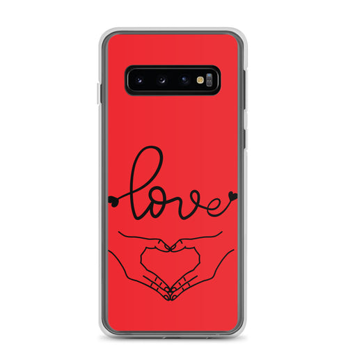 Spread Love  Red Samsung Case