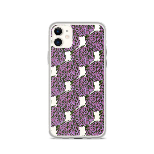 Clove Floral Print iPhone Case