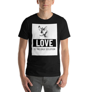 Love is the only Solution Short-Sleeve Unisex T-Shirt