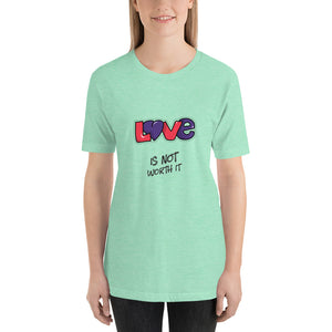 Love is ..... Short-Sleeve Unisex T-Shirt