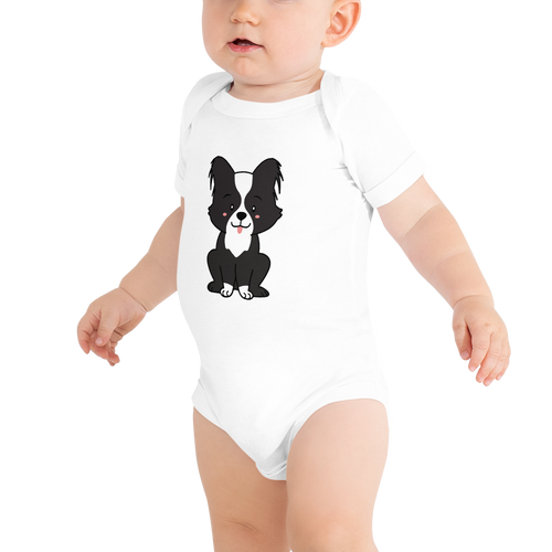 Dog Themed  Baby Suit Short Sleeve One Piece