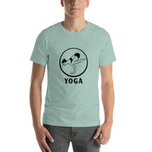 Yoga Pose Short-Sleeve Unisex T-Shirt