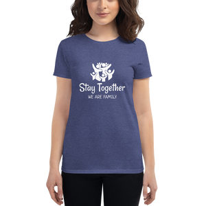 GlamoRight - Family Together Women's short sleeve t-shirt
