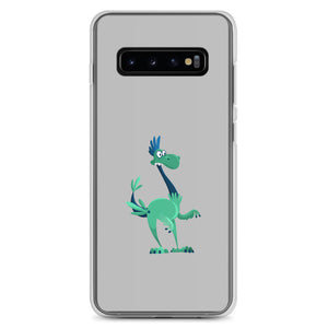 Cute Dino Ready to go With You Samsung Case