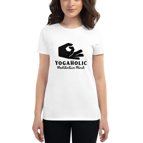 GlamoRight Yoga Yshirt - Women's short sleeve t-shirt