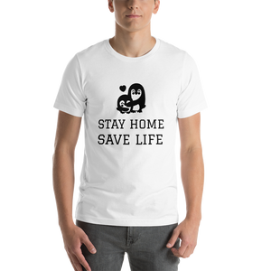 Remember Stay Home Stay Safe Short-Sleeve Unisex T-Shirt