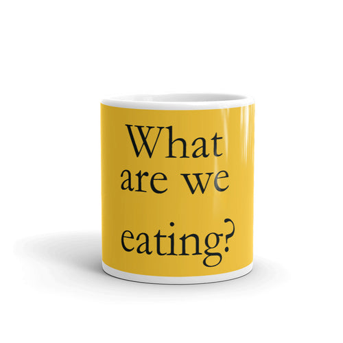 What are We Eating Mug