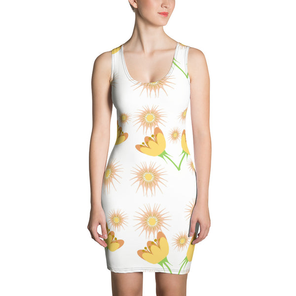 Midsummer Botanical Print Dress