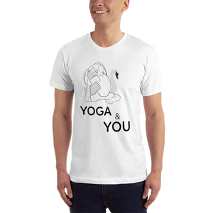 Yoga and You T Shirt with Motivation and Comfort.