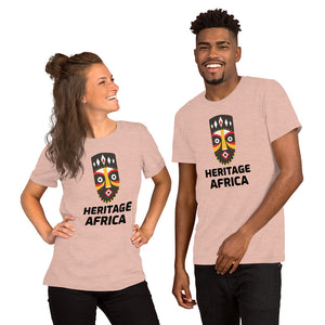 The African Heritage Man Short-Sleeve Unisex T-Shirt