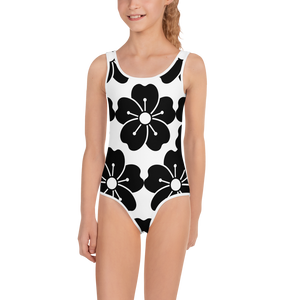 Glamoright All-Over Print Kids Swimsuit