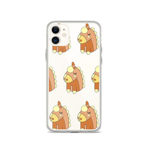Cute Unicorn Signature Prints iPhone Case